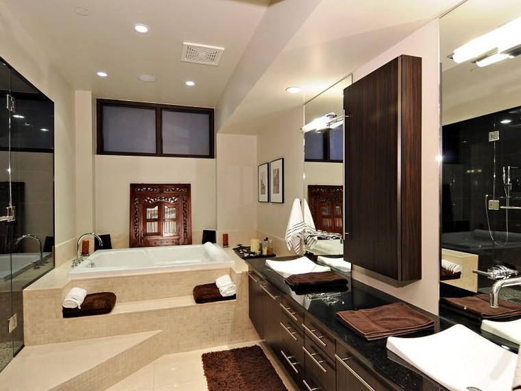 Luxury bathroom renovations just right bathrooms melbourne - Luxury bathroom designs with stunning interior ...