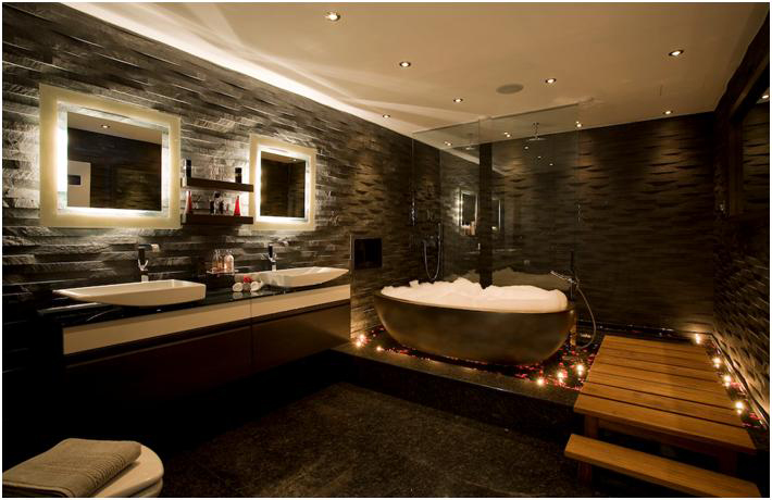 Luxury bathroom renovations just right bathrooms melbourne for Master suite bathroom